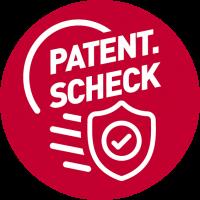 Clicken  Sie auf das Patent.Scheck Icon und das Factsheet öffnet sich als pdf.