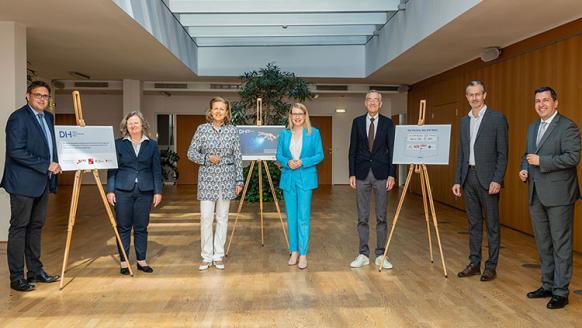Starke Allianz für die Digitalisierung heimischer KMU - die Partner und Fördergeber des DIH West bzw. von Digital Innovation Hubs